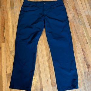 Lululemon ABC Warpstreme Pants (Navy Blue)